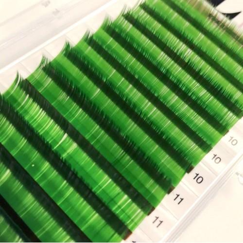 Ciglia colorate GIALLE 0,07 C MIX